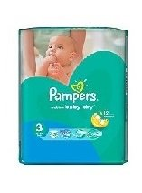 Pampers Памперс Active Baby Миди SP р-р 3 /5-9 кг./ 15 бр. 0202172